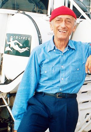 Captain Jacques-Yves Cousteau