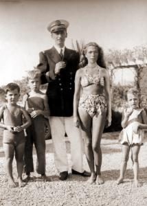 Jean-Michel Cousteau Family