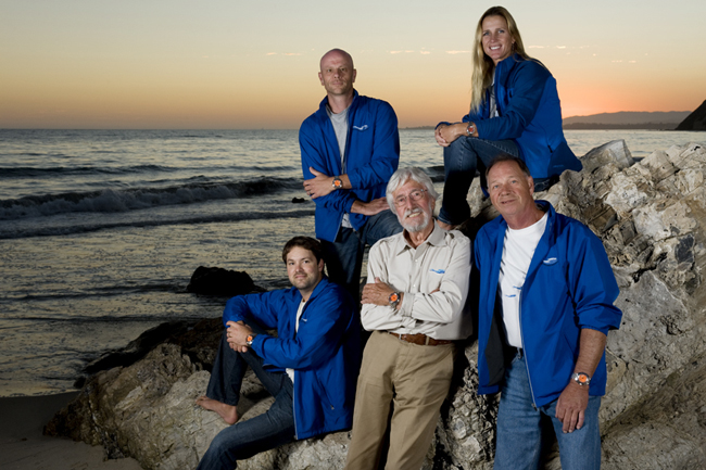 Jean-Michel Cousteau and the Ocean Futures Society Expedition Team are proud to wear DOXA watches